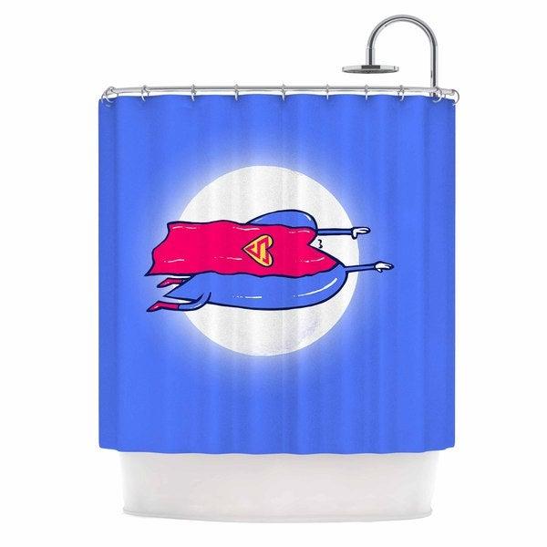 KESS InHouse BarmalisiRTB 'Superlove' Shower Curtain (69x70)