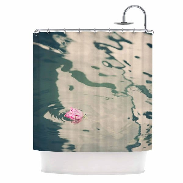KESS InHouse Sylvia Coomes 'Venetian Rose' Shower Curtain (69x70)
