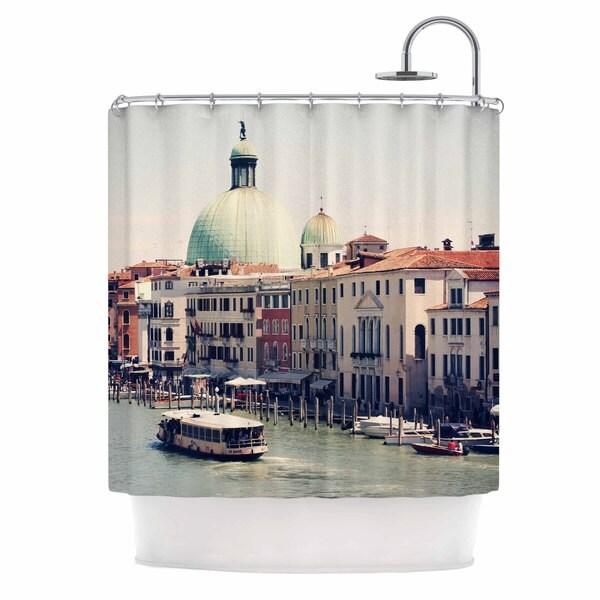 KESS InHouse Sylvia Coomes 'Venice 3' Shower Curtain (69x70)