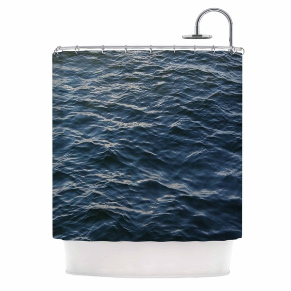 KESS InHouse Suzanne Carter 'Deep Water' Shower Curtain (69x70)