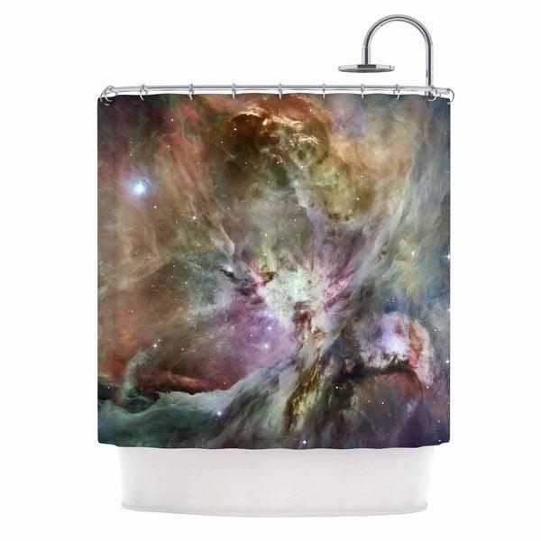 KESS InHouse Suzanne Carter 'Orion Nebula' Shower Curtain (69x70)