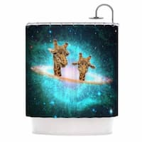 KESS InHouse Suzanne Carter 'Fred & Larry' Shower Curtain (69x70)