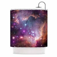 KESS InHouse Suzanne Carter 'Cosmic Cloud' Shower Curtain (69x70)