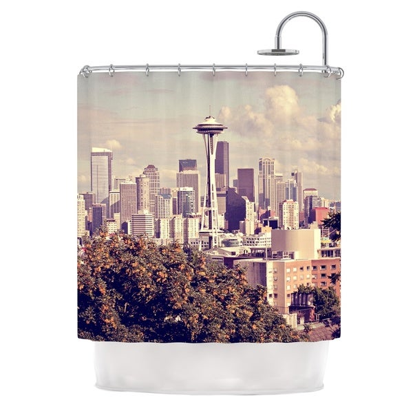 KESS InHouse Sylvia Cook 'Space Needle' Shower Curtain (69x70)
