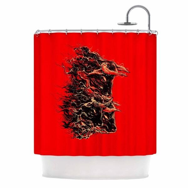 KESS InHouse BarmalisiRTB 'Bull' Shower Curtain (69x70)