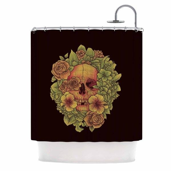 KESS InHouse BarmalisiRTB 'Fragrant Dead' Shower Curtain (69x70)