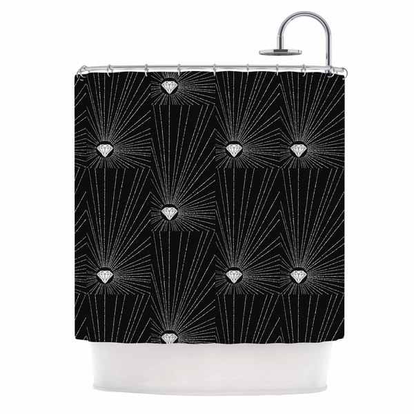 KESS InHouse BarmalisiRTB 'Diamond' Shower Curtain (69x70)
