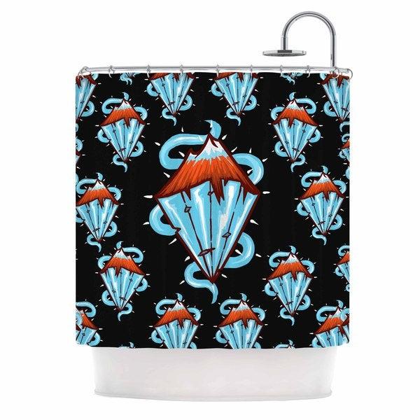 KESS InHouse BarmalisiRTB 'Diamond Mountain' Shower Curtain (69x70)