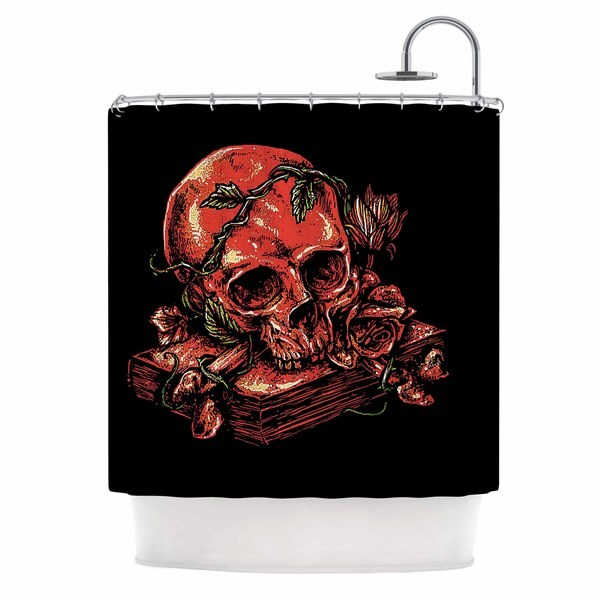 KESS InHouse BarmalisiRTB 'Dark History' Shower Curtain (69x70)