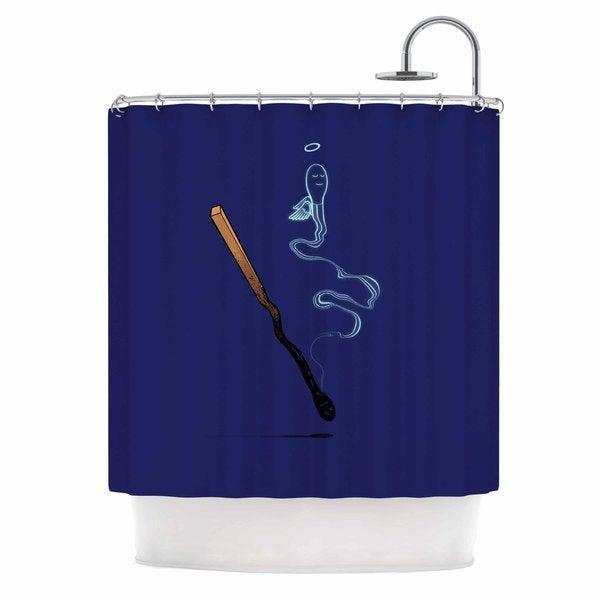 KESS InHouse BarmalisiRTB 'Matches' Shower Curtain (69x70)