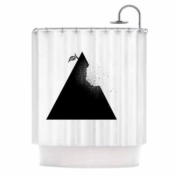 KESS InHouse BarmalisiRTB 'Apple Pyramid' Shower Curtain (69x70)
