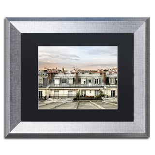 Philippe Hugonnard 'Paris Rooftops' Matted Framed Art