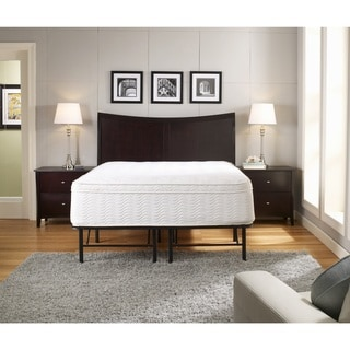 Sleep Sync 18-inch Eastern King Premium Platform Mattress Bed Frame