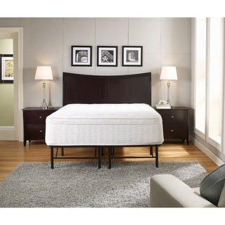 Sleep Sync 18-inch King Premium Platform Mattress Bed Frame
