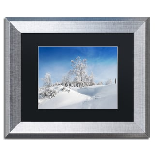 Philippe Sainte-Laudy 'Dressed For Winter' Matted Framed Art