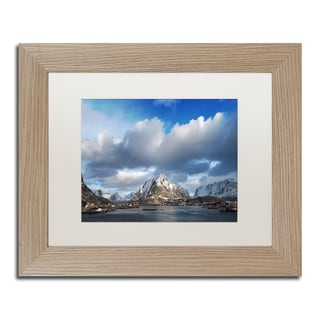 Philippe Sainte-Laudy 'Happy Hour in Norway' Matted Framed Art
