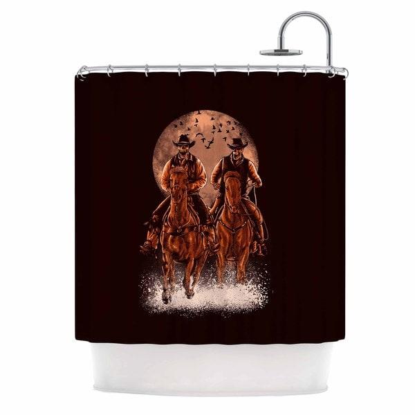 KESS InHouse BarmalisiRTB 'Come At Night' Shower Curtain (69x70)