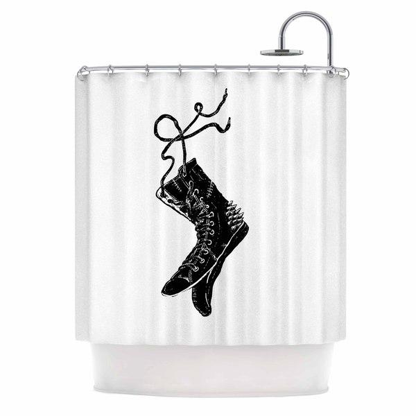 KESS InHouse BarmalisiRTB 'Damaged' Shower Curtain (69x70)