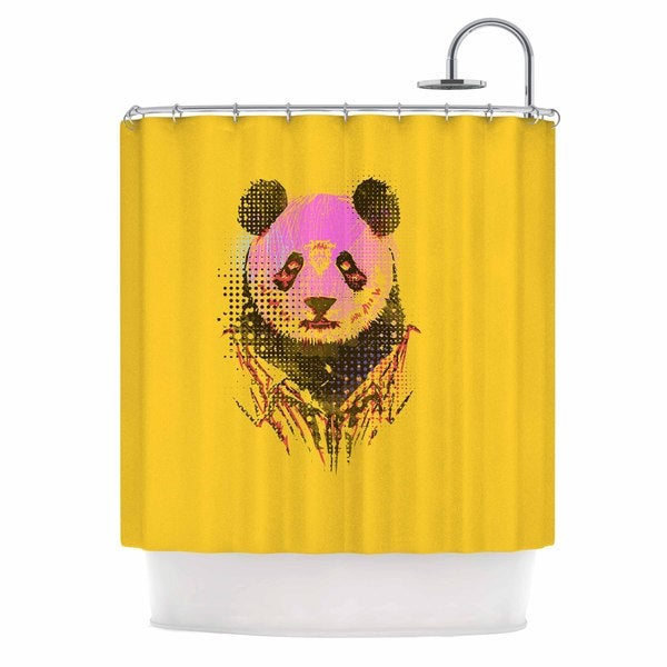 KESS InHouse BarmalisiRTB 'Dandy Panda' Shower Curtain (69x70)