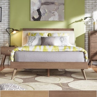 Penelope Danish Modern Tapered King Platform Bed by MID-CENTURY LIVING
