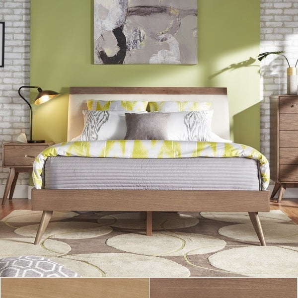 penelope danish modern platform bed inspire q modern