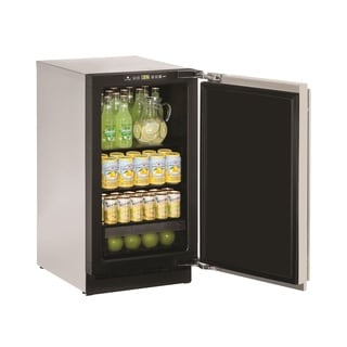 U-Line 2000 Series 2218 18-inch Stainless Steel Solid Door Refrigerator