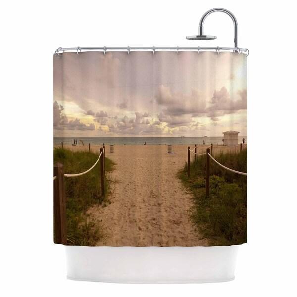 KESS InHouse Rosie Brown 'Walkway To Heaven' Shower Curtain (69x70)