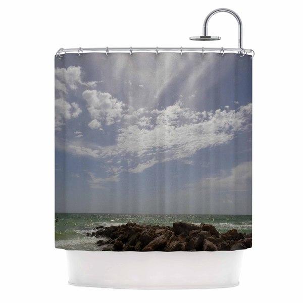 KESS InHouse Rosie Brown 'Clouds' Shower Curtain (69x70)
