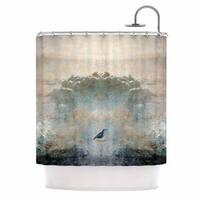 KESS InHouse Pia Schneider 'Heavenly Bird' Shower Curtain (69x70)