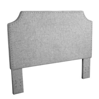 HomePop Lauren Headboard Full/Queen in Marbled Gray