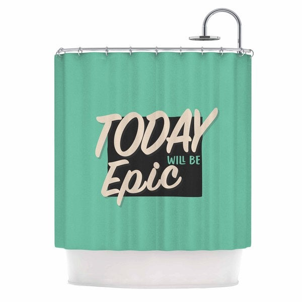 KESS InHouse Juan Paolo 'Epic Day' Shower Curtain (69x70)