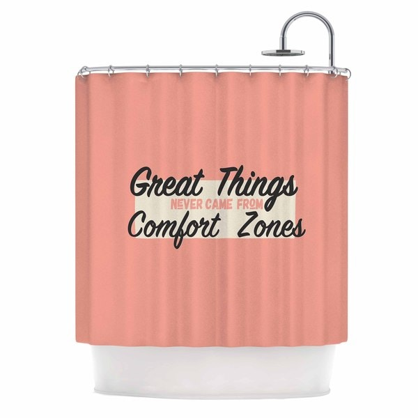 KESS InHouse Juan Paolo 'Great Things' Shower Curtain (69x70)
