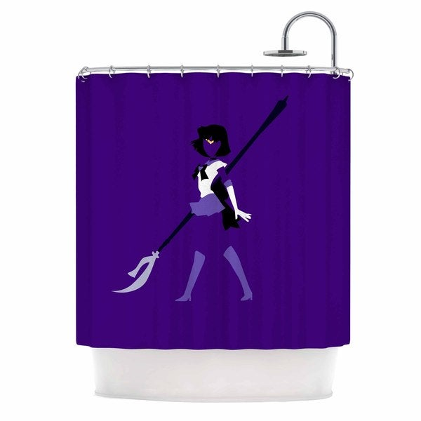 KESS InHouse NL Designs 'Saturn Senshi' Shower Curtain (69x70)