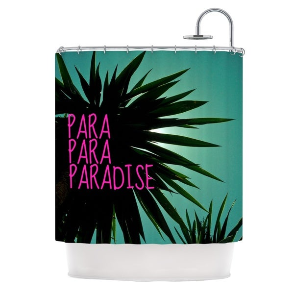 KESS InHouse Nika Martinez 'Exotic Paradise' Shower Curtain (69x70)