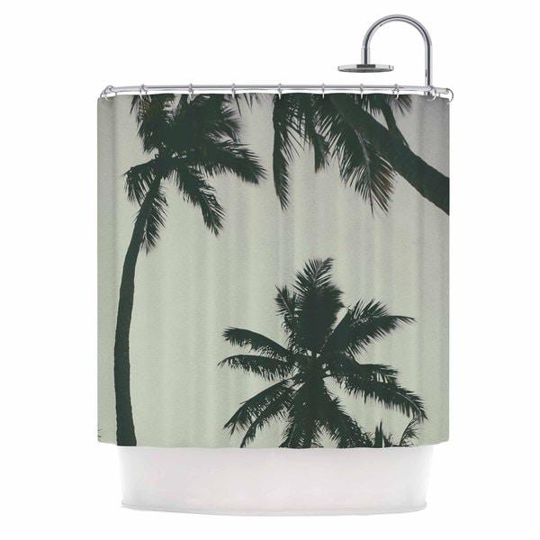 KESS InHouse Mary Carol Fitzgerald 'Rise Of Palms' Shower Curtain (69x70)