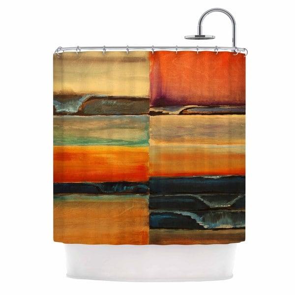KESS InHouse Nathan Gibbs 'Fournication' Shower Curtain (69x70)