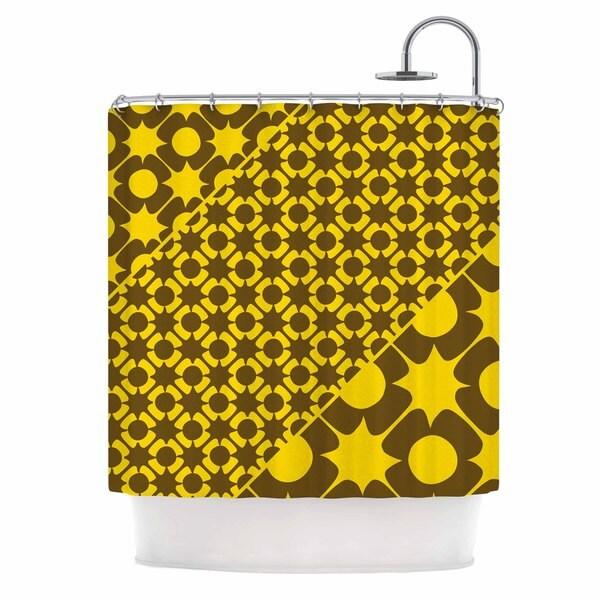KESS InHouse Nacho Filella 'Pop' Shower Curtain (69x70)