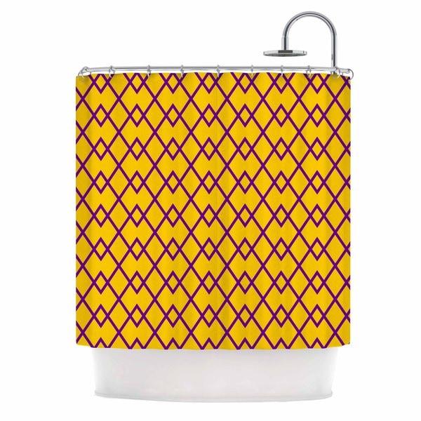KESS InHouse Matt Eklund 'St. Augustine Pride' Shower Curtain (69x70)