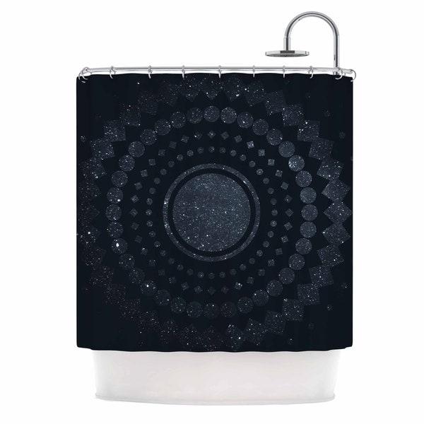 KESS InHouse Matt Eklund 'Lunar Confetti' Shower Curtain (69x70)