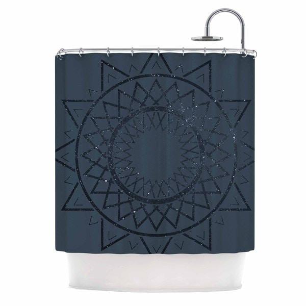 KESS InHouse Matt Eklund 'Lunar Sundial' Shower Curtain (69x70)
