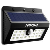 Mpow 20 LED Solar lights Super Bright Outdoor Waterproof Sensor Lights