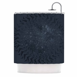 KESS InHouse Matt Eklund 'Lunar Chaos' Shower Curtain (69x70)
