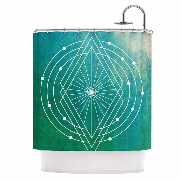 KESS InHouse Matt Eklund 'Atlantis' Shower Curtain (69x70)