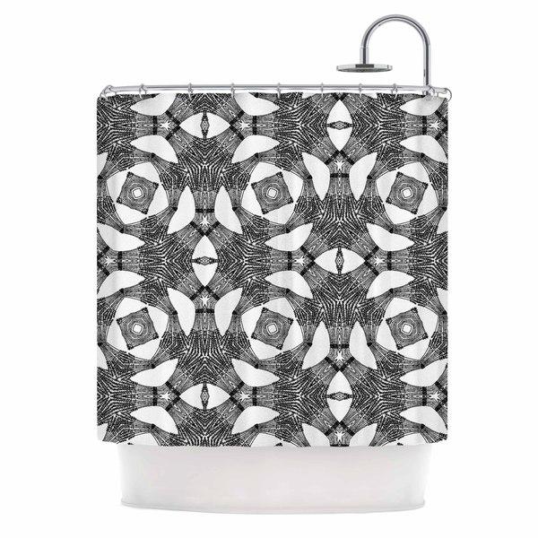 KESS InHouse Laura Nicholson 'Twiggy Boxes' Shower Curtain (69x70)