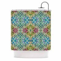 KESS InHouse Laura Nicholson 'Prairie Dazzler' Shower Curtain (69x70)