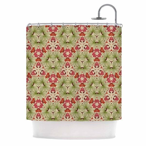 KESS InHouse Laura Nicholson 'Thalia, Pink' Shower Curtain (69x70)