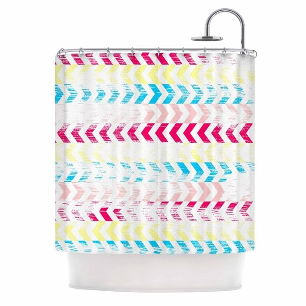 KESS InHouse Louise Machado 'Arrow' Shower Curtain (69x70)