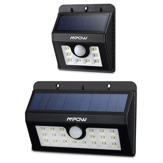 Mpow Solar-powered Motion Security LED Bulb Outdoor Sensor Lamp