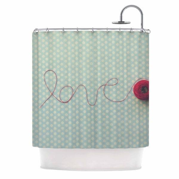 KESS InHouse Kristi Jackson 'String Of Love' Shower Curtain (69x70)