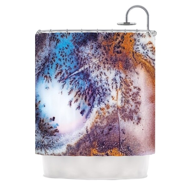 KESS InHouse KESS Original 'Snow Agate' Shower Curtain (69x70)